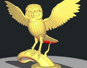 3D printable model Bubo the owl