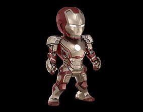 rigged BABY IRON MAN Mk 42 mark 42 Avengers model SD