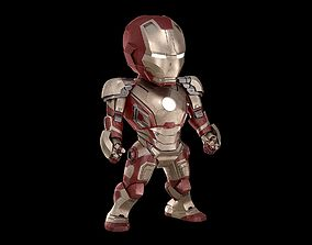 BABY IRON MAN Mk 42 mark 42 Avengers model SD rigged 1