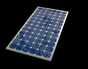 Solar Panel 3D Model enquip