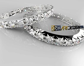 Eternity Ring 3D print model- Fedina Eternity