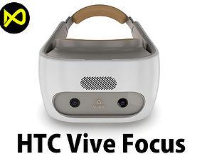HTC Vive Focus White Headset 3D