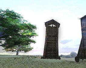 3D model Siege tower
