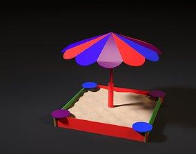 Sandbox Umbrella 3D