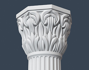Composite Order Column 006 3D decor