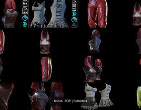 3D Dress TOP