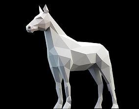 3D asset Horses