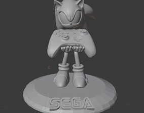 Sonic The Hedgehog xoboxone 3D print model