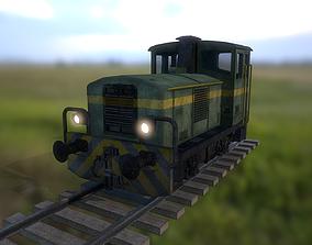 3D asset Italian Diesel Locomotive