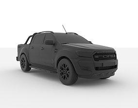 Ford Ranger Wildtrak 2015-2020 3D Printable Model