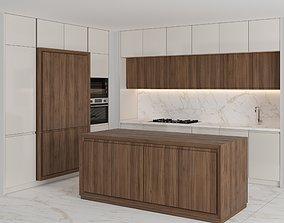Modern kitchen with island 35 3D