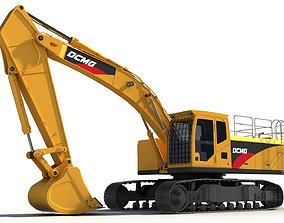 3D Excavator heavy