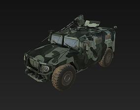 3D asset Tiger Gaz-2975