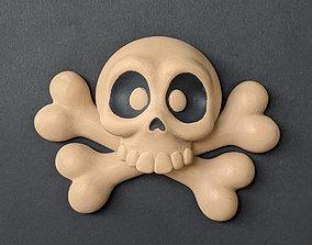 Skull and Cross Bones family 3D printable model