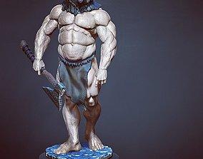 barbarian bear 3D printable model