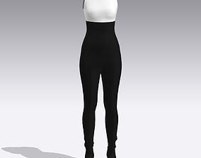 JUMPSUIT clothing 3D
