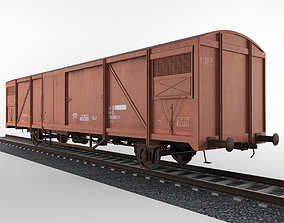 Train Boxcar 3D