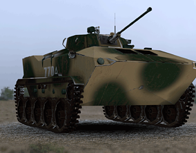 3D asset Tank BMD-4M