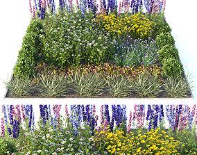 3D Flowerbed 2
