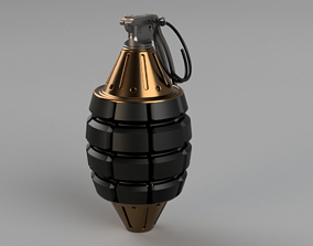 3D print model Toy grenade statue toys