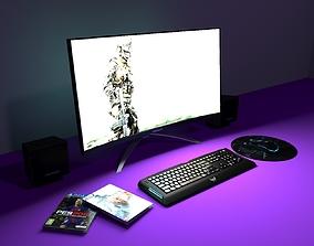 Gaming computer legion 3D model