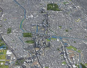 Jakarta - full area 3D asset
