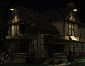 Exterior Night 3D asset