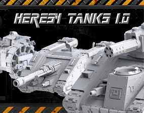 3D print model Heresylab - Tank Collection