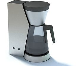 Modern High End Coffee Maker 3D