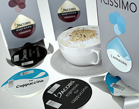 3D model bar Tassimo Boxes