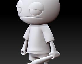 Mr Yella 3D print model