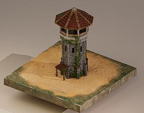 3D asset Archer Tower Level 10
