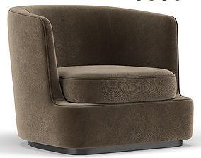Apollo Armchair furniture 3D