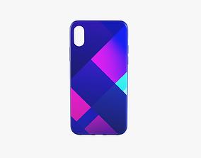 3D asset iPhone XR Case 6