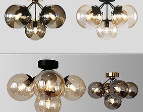 3D Ceiling Light Fireflies