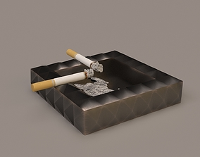 3D model Ashtray Metal