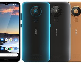 Nokia 5 3 All Colors 3D