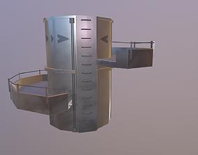3D asset warehousing