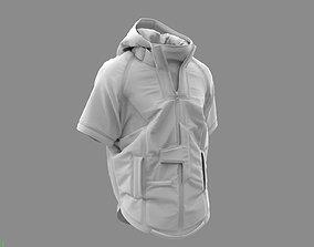 3D Cyberpunk Jacket - Marvelous Designer