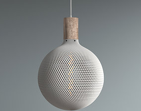 3D printable model Sphere Lampshade for table lamp or 1