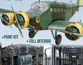 3D model Junkers Ju-52