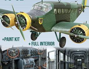 3D Junkers Ju-52
