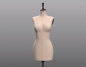 3D model Vintage Mannequin character