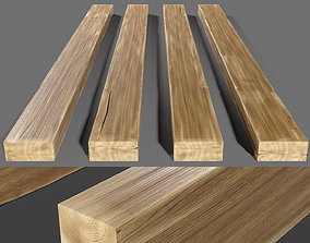 Wooden beam 3D model
