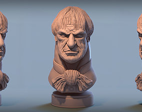 Haunted Mansion Male Bust 3D printable model