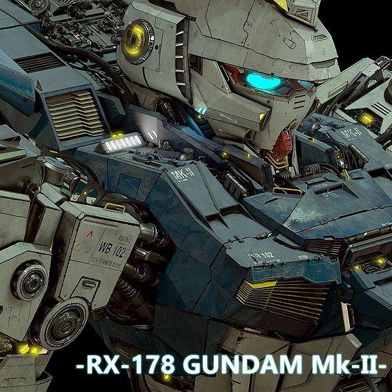 Gundam - Combat Mobile Suit - Custom Build RX-178-2