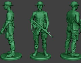 Modern Jungle Soldier Stand3 MJS1 3D printable model