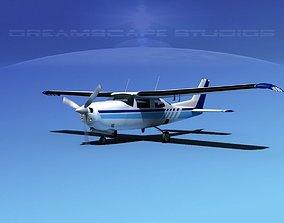 3D model Cessna 210 Centurion V02
