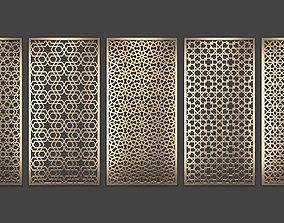 3D Decorative panel set 79