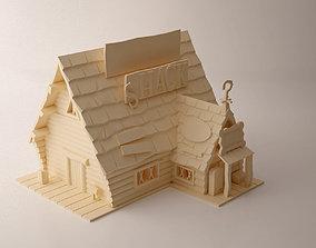 Gravity Falls Mystery Shack 3D printable model